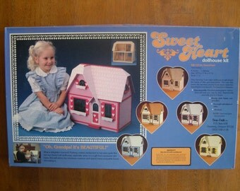 SALE --- SweetHeart dollhouse kit from Dura-Craft, model SW125 --- Reduced