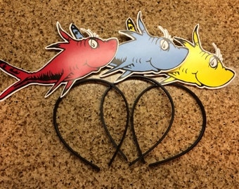 Popular items for fish headband on Etsy