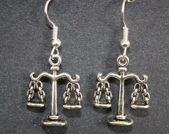 Scales of Justice earrings