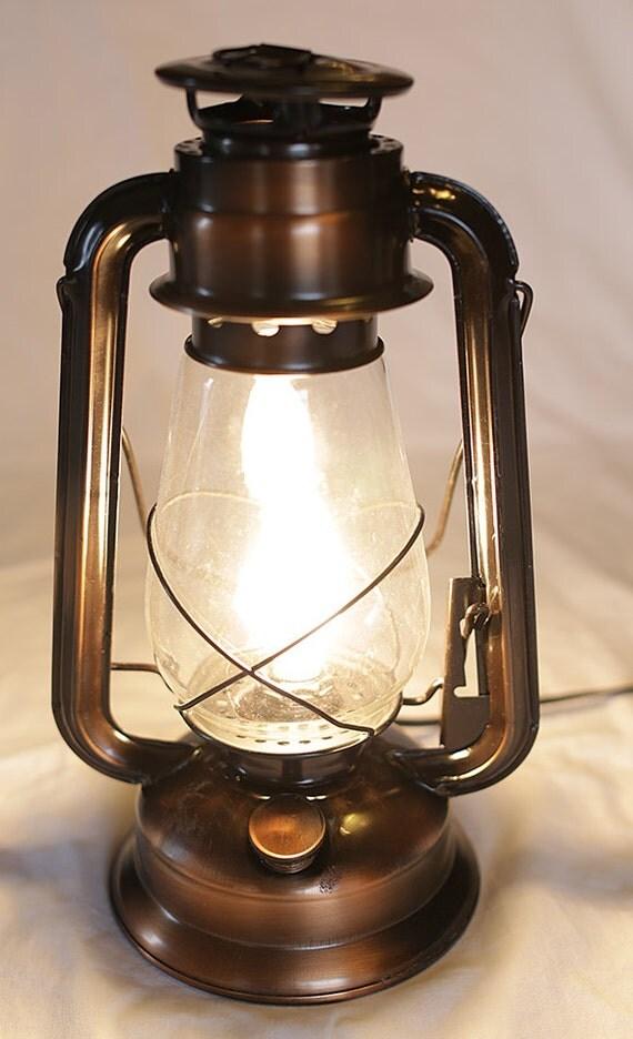 Old Fashioned Electrified Kerosene 12 Lantern For Your