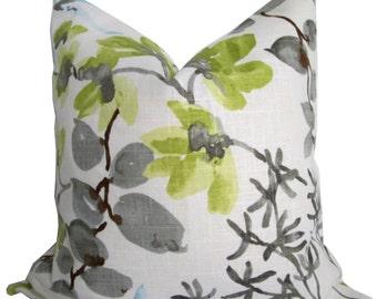 Braemore Floral Decorative Pillow Cover - Pillow Cover - Toss Pillow - Throw Pillow - Accent Pillow - Sofa Pillow - Pillow Cushion
