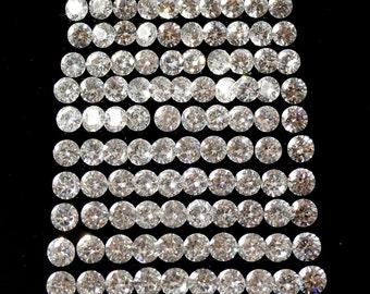 Cubic Zircona Round 2.5mm Sale by Best in Gems (540)