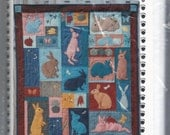 Rabbits and Hares Animals Quilt Pattern UNCUT Price Reduced