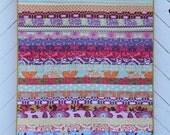 Floral Stripe Quilt