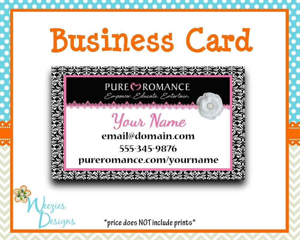 Beautiful Pure Romance Business Cards Pictures Inspiration ...