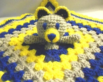 Crocheted Lovey - Made To Order Your Choice Of Colors!