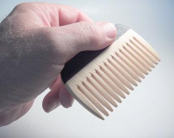 Wooden Comb, Handmade, Men Comb, Women Comb, Beard Comb, Natural Hair Care, Convenient Size, Comfort Feel, Safe Natural Finish