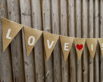 Lowe Is Sweet Banner Wedding Banner Engagement Bunting Engagement Banner Bridal Shower Banner Bridal Banner Wedding Sign Wedding Garland