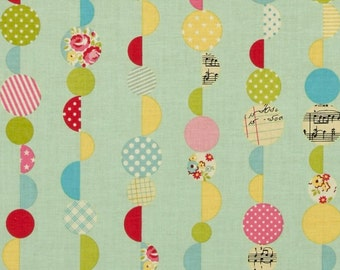CLEARANCE - Sidewalks MarblesTeal by October Afternoon for Riley Blake, 1/2 yard, C3483-Teal