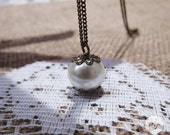 Signature Pearl Necklace - short length
