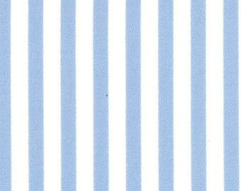 Half Yard Jubilee - Stripe in Blue - Cotton Quilt Fabric - from Bunny Hill Designs for Moda - 2848-19 (W1346)