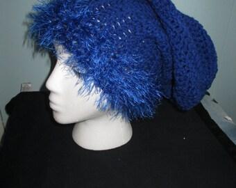 blue slouchie