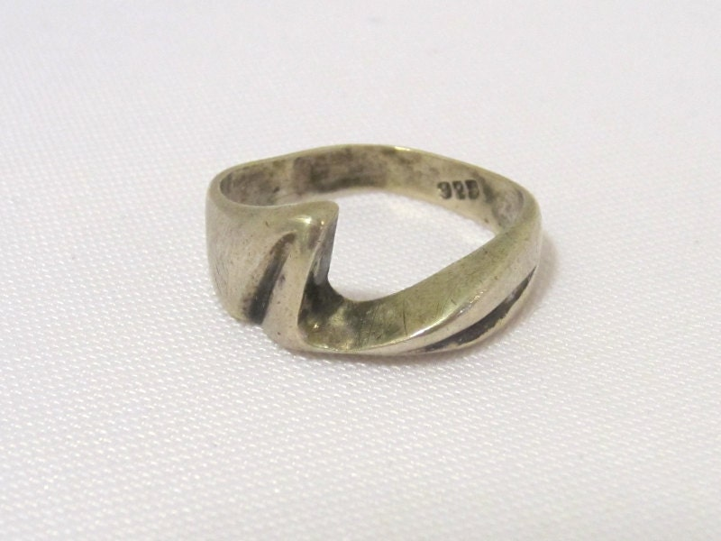 vintage mexican sterling silver ring size 9