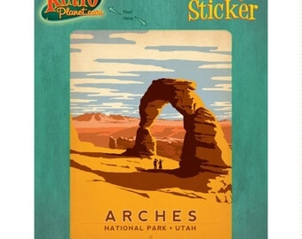 Arches National Park Utah Vinyl Sticker #47958