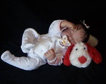 Private Listing for  happymotherofthree ONLY Nod Full Vinyl Body Donna Rubert Custom Reborn Doll