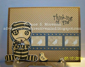 Thinking Of You Greeting Card...