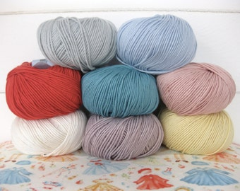 Debbie Bliss eco baby organic fair trade yarn 100% cotton knitting crochet 50g ball