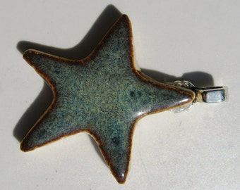 Blue Star Pendant
