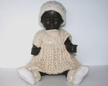 Vintage Composition Doll With Faults /MEMsArtShop.