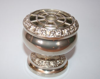 Stunning Vintage Small Silver Plated Rose Bowl - By Ianthe England / MEMsArtShop.