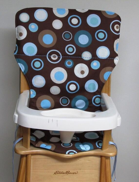 Chair Cover Eddie Bauer Replacement High Chair Pad Blue