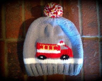 Fire Engine Hat
