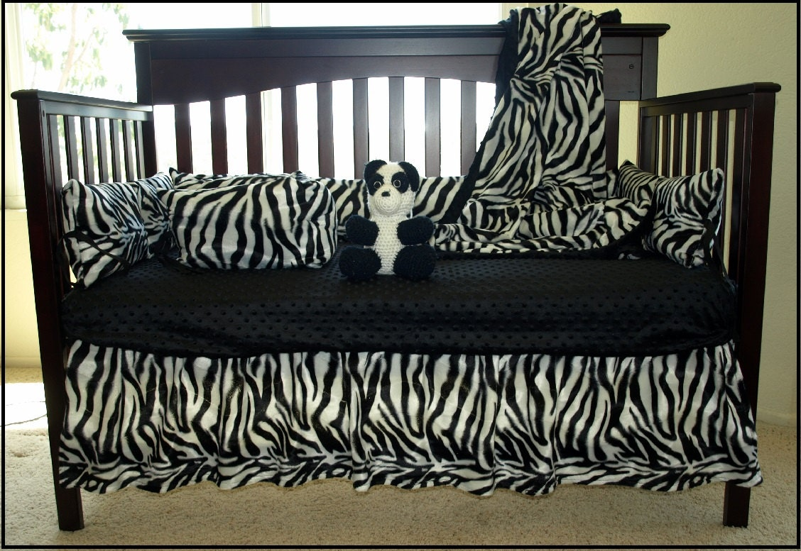 Zebra Crib Bedding 16 Sheet Color Options