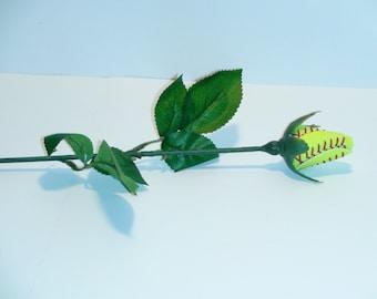 Softball Rose / Flower (12 PACK) Fast Shipping !