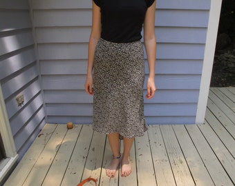 Vintage High Low Skirt (Size 5)