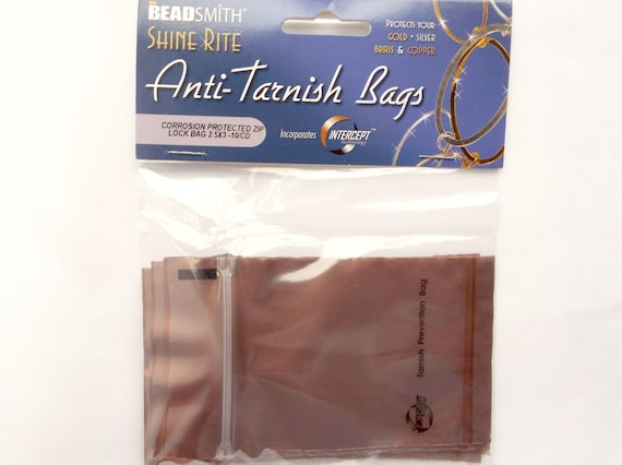 10 anti tarnish bags protect your jewelry gold silver brass for Anti tarnish jewelry bags