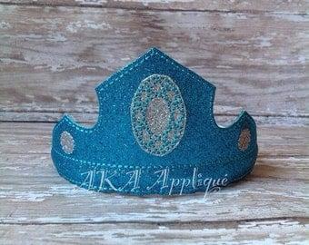 ITH Ruby Headband Tiara Embroidery Design