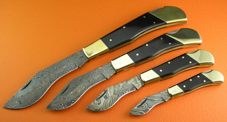 100 Handmade Forged Sana Cutlery Custom 4 Knives Set