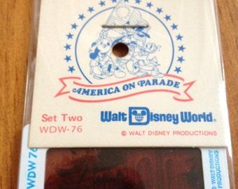 Walt Disney World Slides - America on Parade!
