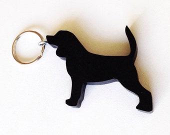 Beagle Keychain - Dog Keychains - Gifts for Dog Lovers - Beagle
