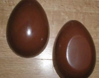 "Plain Egg 4 7/8"" 3D Assembly Chocolate Mold"
