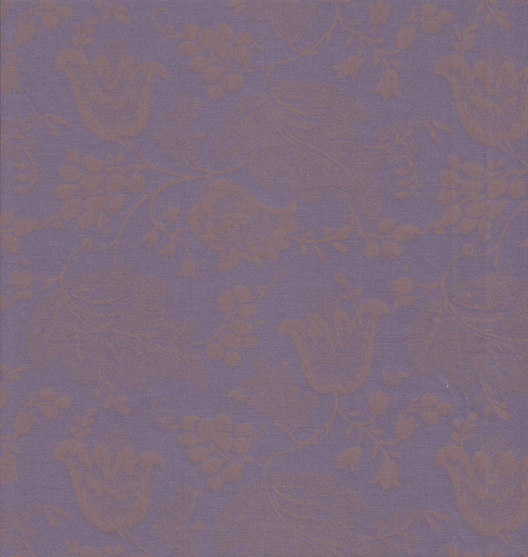 dutch chintz purple ton sur ton fq. Black Bedroom Furniture Sets. Home Design Ideas