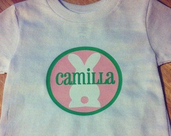 Personalized Easter Bodysuit or T-Shirt