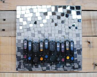 CLEARANCE, Mixed Media Mosaic, Environmental Art, Sustainable Living Wall Art