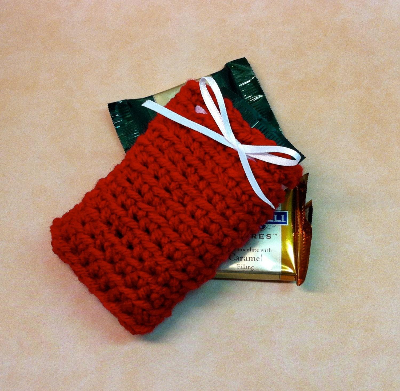 Crochet Gift Card Holder Birthday Holiday Gift Card Holders