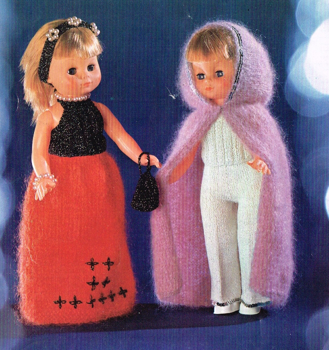 Knit Pattern Books For 18 Inch Doll Clothes : Dolls Clothes Knitting pattern for 18 inch doll. American