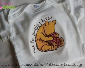 Winnie the Pooh - Time for Something Sweet - Creeper or Tshirt