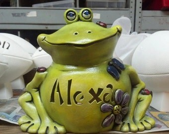 Philbert the Frog personalized ceramic