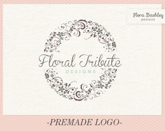 Custom Logo Design Premade Logo and Watermark - FB097