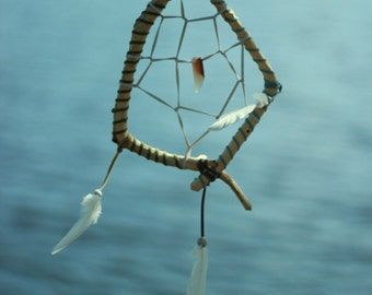 White witch dream catcher Pagan dreamcatcher Wiccan talisman