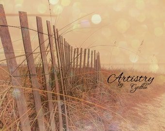 Bokeh, Beach Photography, Landscape, Ocean photography, Coastal Wall Art, Nautical, dreamy, nature