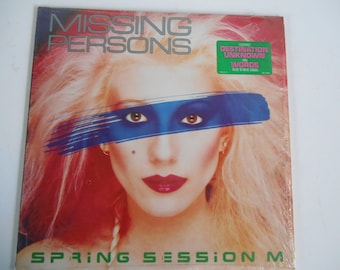Missing Persons- Spring Session M- vinyl record