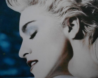 Madonna- True Blue- vinyl record