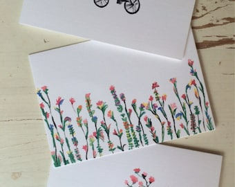 Spring Stationery - 6 Pack