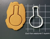 Beaker Science Tools Glassware Cookie Cutter Made to order I0116