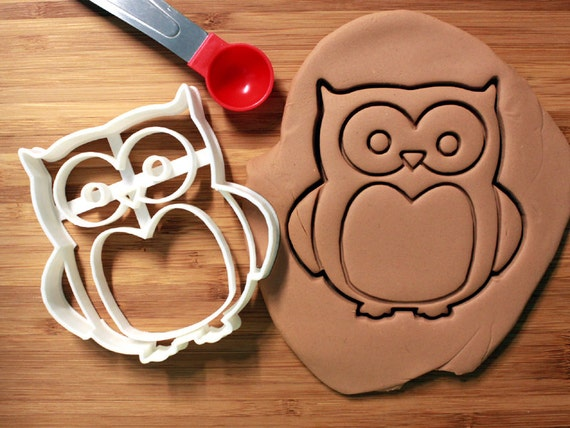 Owl Cookie Cutter Made to order